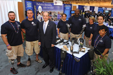 VISN 16 hosted the National Veteran Small Business Conference and Expo in New Orleans