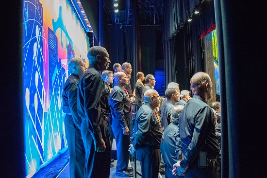 Behind the scenes at the National Veterans Creative Arts Festival